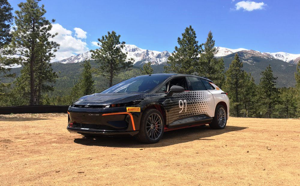 limited electric vehicles challenging pikes peak in 2017 rallystar. Black Bedroom Furniture Sets. Home Design Ideas