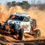 HUSBAND AND WIFE TEAM TAKE A MEMORABLE VICTORY ON TOYOTA KALAHARI BOTSWANA 1000 DESERT RACE