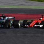 Sebastian Vettel and Lewis Hamilton face off again as Baku bad blood lingers on