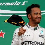 Hamilton thumbs his nose at Mercedes