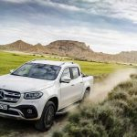 The Mercedes X-Class pickup hits the market in Europe this year.