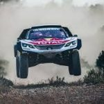 LATEST UPDATE: Peugeot are leaving their rivals Loeb struck at Silk Way Rally