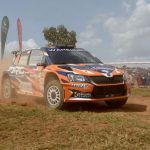 MANVIR BARYAN MAKES HISTORY WITH ŠKODA'S FIRST WIN IN THE AFRICAN RALLY CHAMPIONSHIP