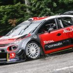 LOEB TESTS CITROËN C3