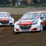 Sébastien Loeb, Timmy Hansen and Kevin Hansen head for France's RX classic