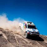 PENULTIMATE STAGE CRASH SIDELINES SOUTH RACING'S GUTIÉRREZ IN CHILE'S ATACAMA CROSS-COUNTRY RALLY