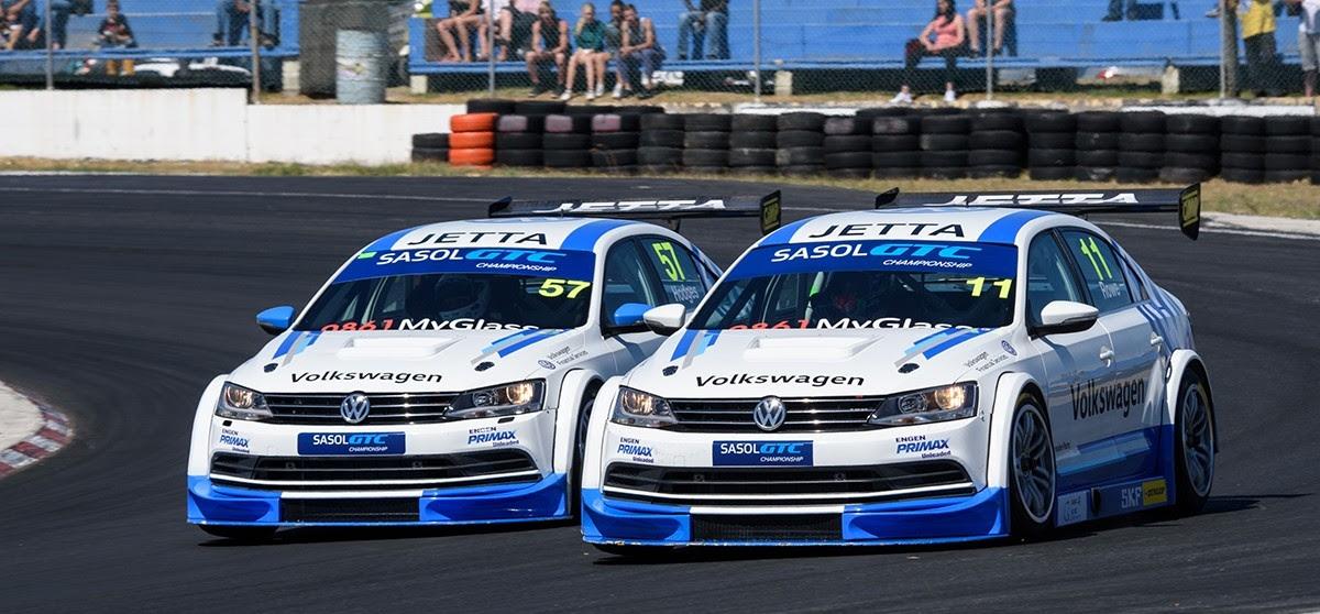 Volkswagen Motorsport Prepares For Battle At Short Zwartkops