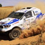 South Racing CE on the HunGarian Baja to test for the Dakar rally.