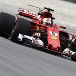 Ferrari on top in second practice, Mercedes struggle, and drain cover takes out Grosjean