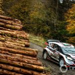 Wales WRC: Home hero Evans takes early lead