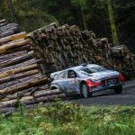 Four car challenge for Hyundai on Wales Rally GB