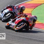 Marquez relishing pressure of final MotoGP title battles