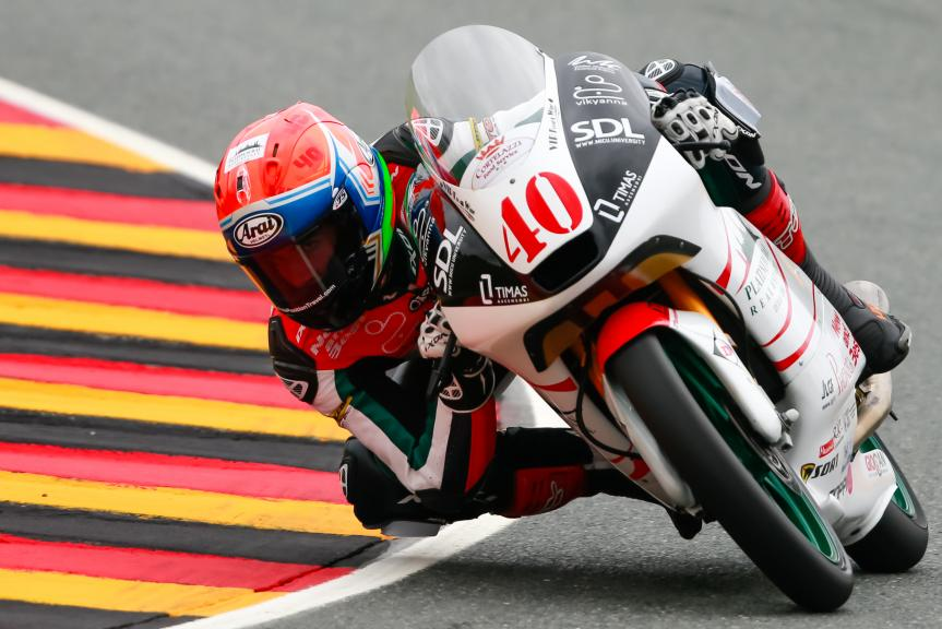 Tough first day in Japan for Darryn Binder - Ajo Motorsport