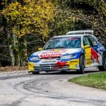 Loeb at the head of a rain of stars in the Rally du Var