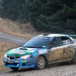 Three-way battle for championship at Rally NZ