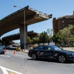 Mercedes-Benz on automated test drive in South Africa
