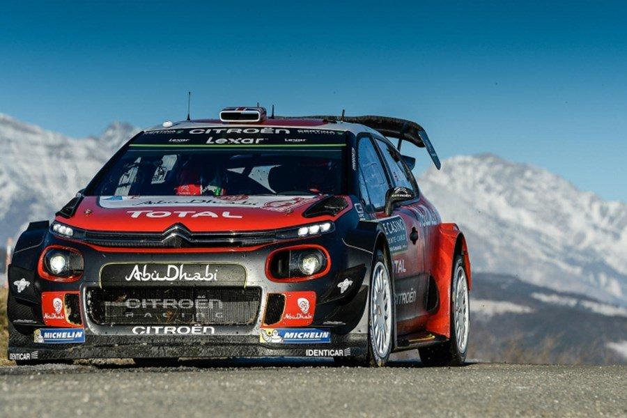 Citroën C3 WRC returns to the Monte Carlo Rally – Rallystar