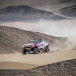 SOLID PERFORMANCE FOR TOYOTA GAZOO RACING SA BY DE VILLIERS/VON ZITZEWITZ ON STAGE 2 OF DAKAR 2018