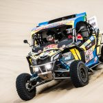 SOUTH RACING CAN-AM TEAM'S VARELA SNATCHES SXS  VICTORY ON SECOND DAKAR LOOP STAGE AROUND PISCO
