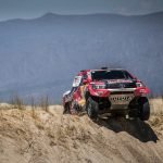 MIXED RESULTS FOR TOYOTA GAZOO RACING SA ON STAGE 10 OF DAKAR 2018
