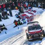 Citroën C3 WRCs head for Rally Sweden