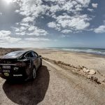 Budapest-Bamako: First crew passed the 8,600km Adventure Rally with Tesla X