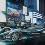 This is the second-generation Formula E car