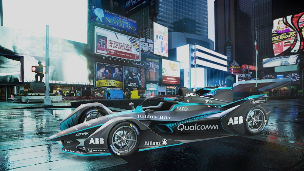 This is the second-generation Formula E car – Rallystar
