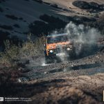 Morocco Desert Challenge: Race started with roll of Favourite Ourednicek