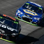 Kyle Busch pulls away at Richmond for third straight Cup victory