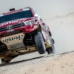 DISAPPOINTMENT FOR TOYOTA GAZOO RACING SA AS AL ATTIYAH/BAUMEL RETIRE ON FINAL STAGE OF QATAR 2018