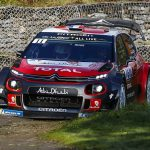 WRC Corsica: Ogier takes early lead as Loeb crashes on second stage