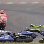 Valentino Rossi accuses Marc Marquez of deliberately crashing into riders