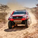 TOYOTA AND DE VILLIERS CONQUER THE BOTSWANA DESERT RACE AS MANY FELL BY THE WAYSIDE