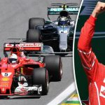 Ferrari's Sebastian Vettel wins the Canadian Grand Prix