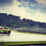 Andrea Caldarelli's masterpiece under the rain in Austria