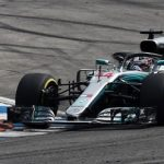 Lewis Hamilton masters the wet to take Hungary pole in Mercedes 1-2