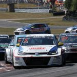 Falkenberg: Podiums for Kristoffersson and Ekblom in the Golf GTI TCR