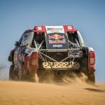 Silk Way Rally: Al-Attiyah fights back in car category with two tricky stages left in Russian race.