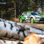 WRC 2 IN FINLAND: ROVANPERÄ POWERS AHEAD