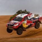Morocco Rally 2018: Toyota Gazoo Racing Team present at the Moroccan race.