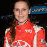 Female racer makes history with record finishes in dirt national midgetevents