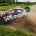 TÄNAK HEADS WRC TRIO IN ESTONIA
