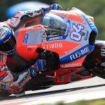 Dovizioso holds off Lorenzo, Marquez for Brno win