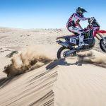 Honda's Kevin Benavides Sets the Pace at Atacama Rally Day 1