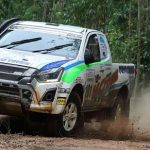 """Asia Cross Country Rally 2018: Isuzu's team leads the """"war"""" against Toyota"""