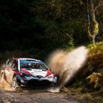 Toyota's Esapeka Lappi fastest in opening stage of Wales rally