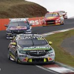 Bathurst 1000: Craig Lowndes wins the race for the seventh time, as cramps cruel David Reynolds' hopes