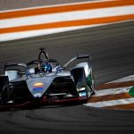 Nissan e.dams Formula E cars on track for the first time