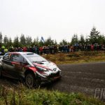 Rally WALES GB:WRC: Tanak heads Evans as Ogier hits gearbox trouble